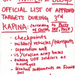 Approved Targets